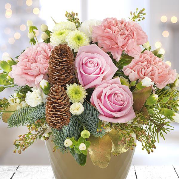 Wedding Flowers Cheltenham: Cheltenham-Flowers-Snow Globe